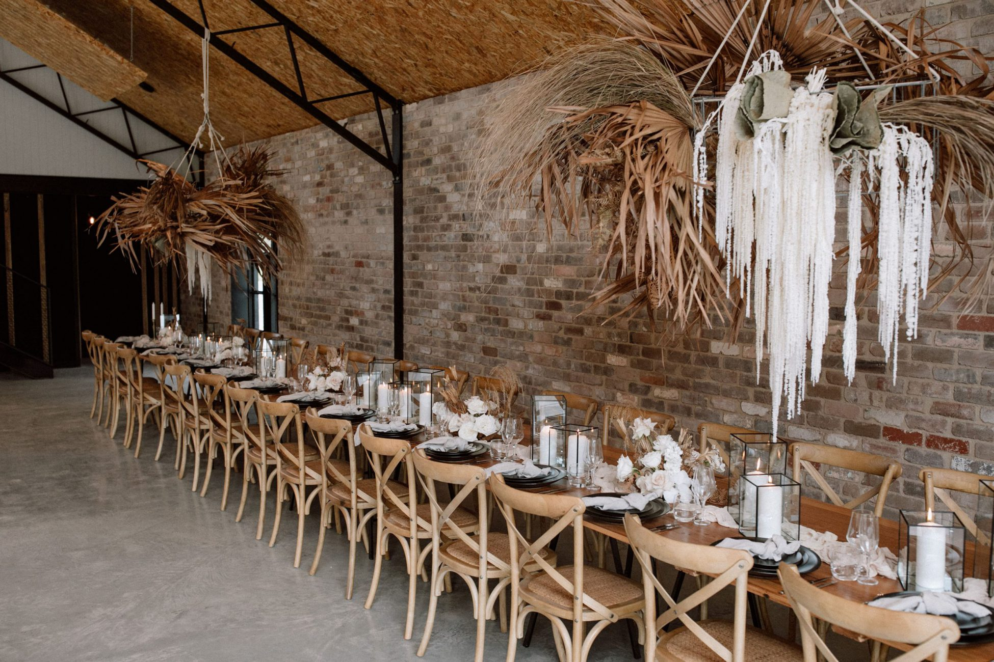 Unique wedding reception styling inspiration