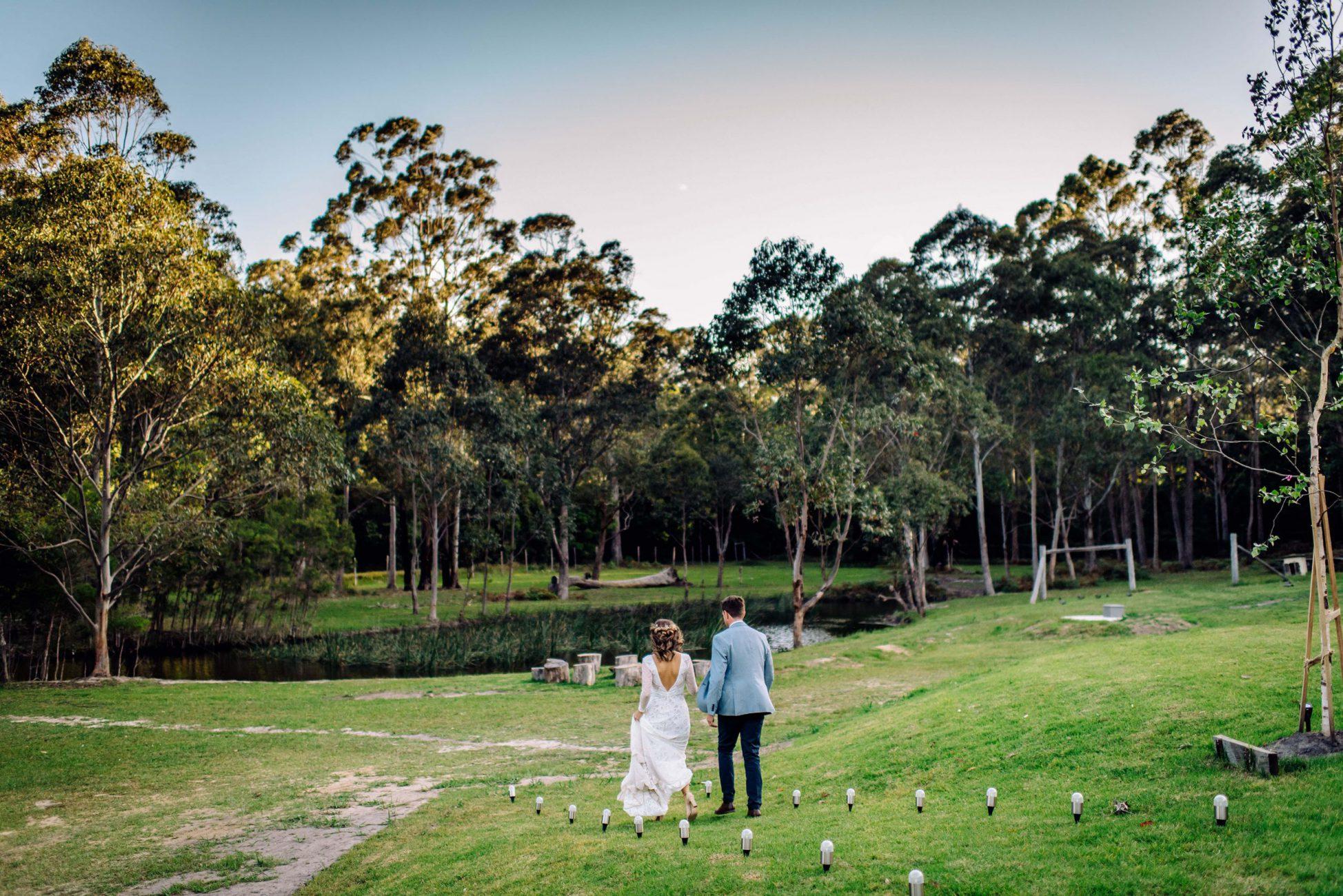 Unique South Coast Wedding Destination in the Bawley Point Bush