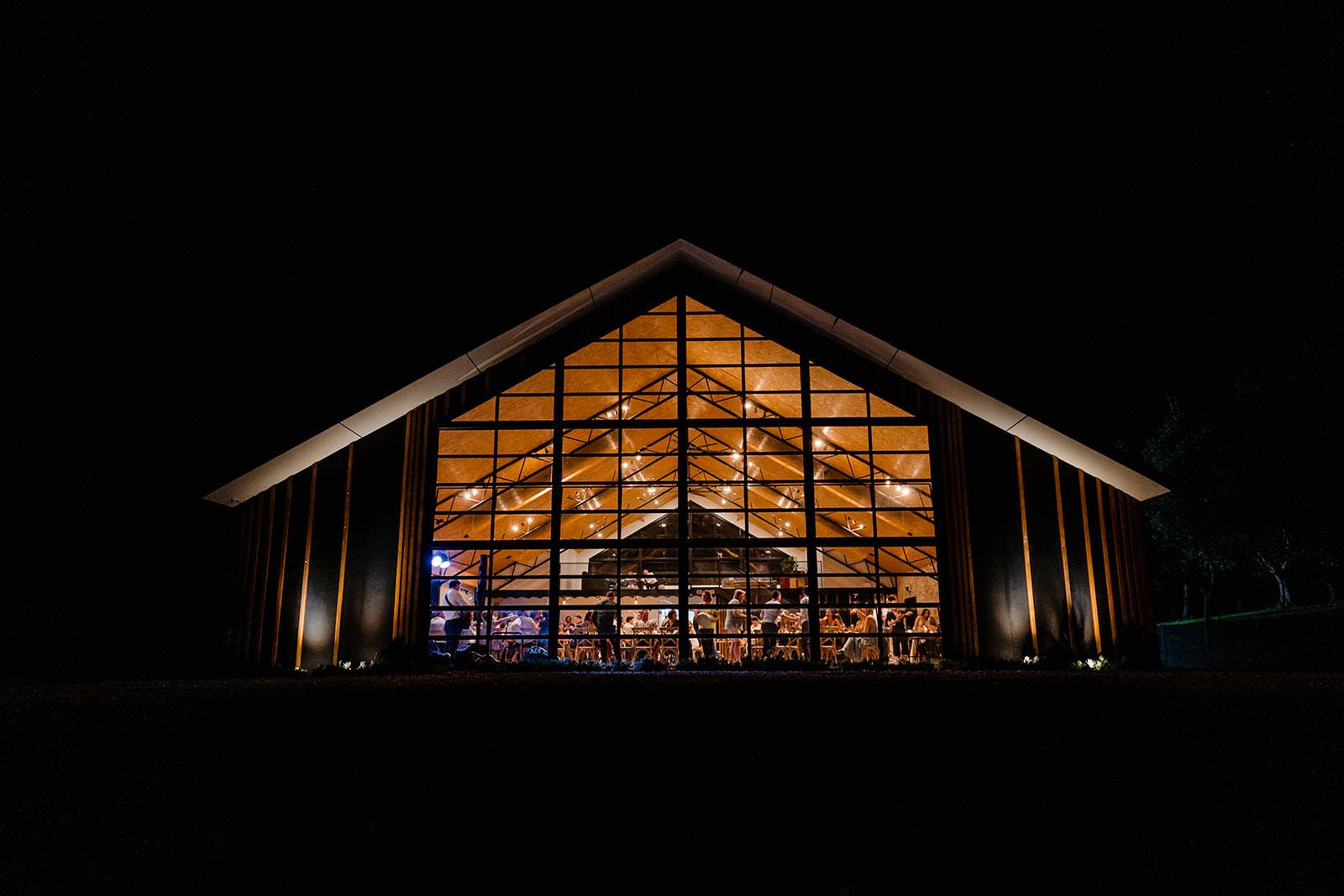 Unique barn wedding venue