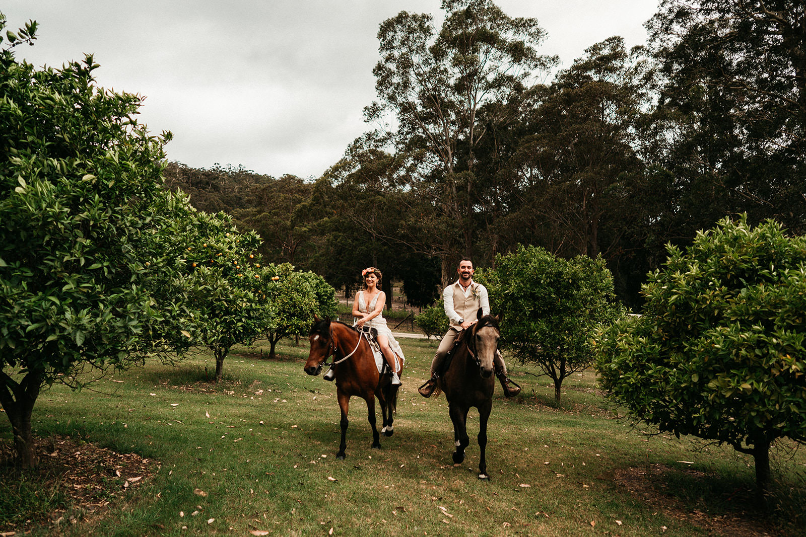 Pet friendly farm wedding venue